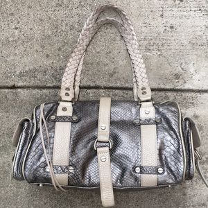 Alexis Hudson Bag Snakeskin Reptile Leather Purse